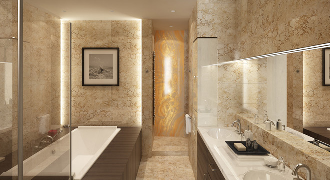 Bathroom ideas for new construction and remodeling projects for Main bathroom designs